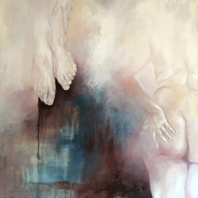 A un metro del suelo|PinturadeAle Feijó| Compra arte en Flecha.es