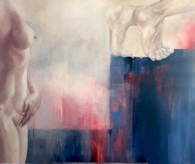 La poética de la partida|PinturadeAle Feijó| Compra arte en Flecha.es