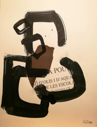 BERTOLT BRECHT|PinturadeIVÁN MONTAÑA| Compra arte en Flecha.es