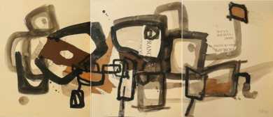 LOS HERMANOS KARAMAZOV ( Tríptico)|PinturadeIVÁN MONTAÑA| Compra arte en Flecha.es