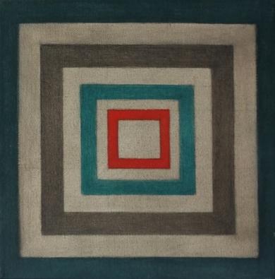 Cromatismo geométrico III|PinturadeVerónica Bustamante Loring| Compra arte en Flecha.es