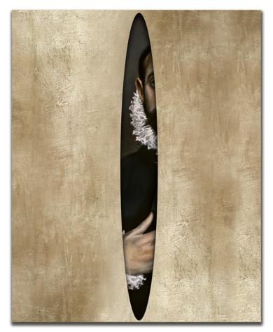 Caballero escondido|PinturadeEnrique González| Compra arte en Flecha.es