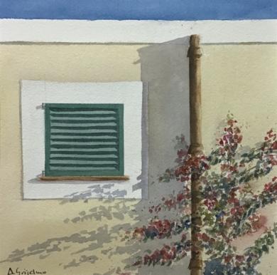 Sombras en la pared 2|PinturadeChela Grijelmo| Compra arte en Flecha.es