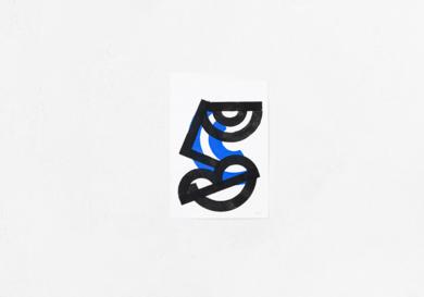 Blue Face|DibujodeMr. Simon| Compra arte en Flecha.es