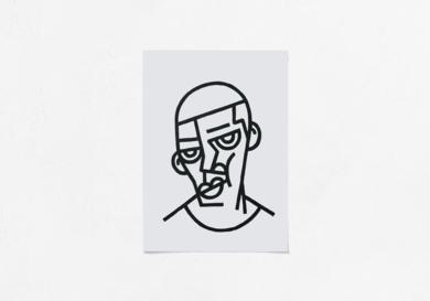 Felipe|DibujodeMr. Simon| Compra arte en Flecha.es