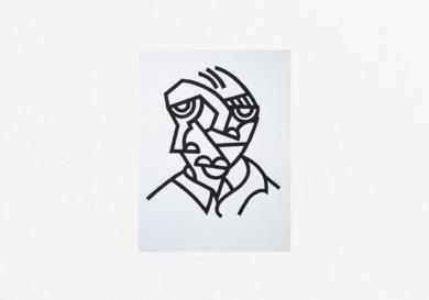 Francis|DibujodeMr. Simon| Compra arte en Flecha.es