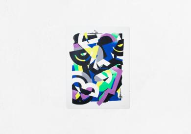 Distancia Social 2|DibujodeMr. Simon| Compra arte en Flecha.es