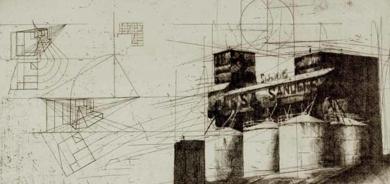 Granero San|Obra gráficadeWenceslao Robles| Compra arte en Flecha.es