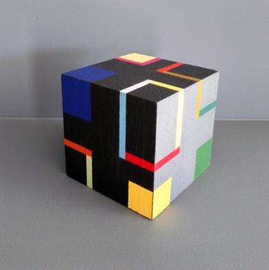 Cube d|EsculturadeLuis Medina| Compra arte en Flecha.es