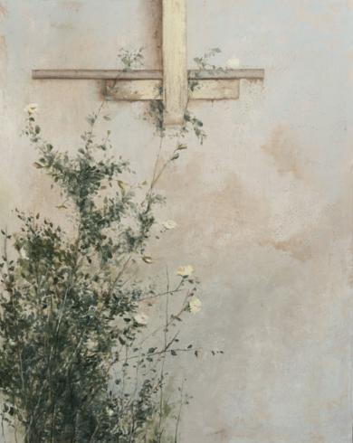 Rosal trepador|Pinturademarta gomez de la serna| Compra arte en Flecha.es
