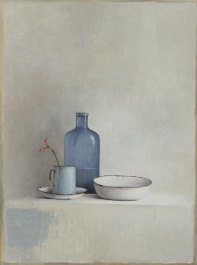 Bodegón azul|Pinturademarta gomez de la serna| Compra arte en Flecha.es