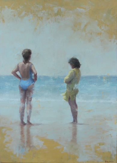 Señoras en Zahara|Pinturademarta gomez de la serna| Compra arte en Flecha.es