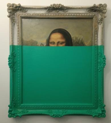 La mirada de la mona lisa|PinturadeJorge perez| Compra arte en Flecha.es