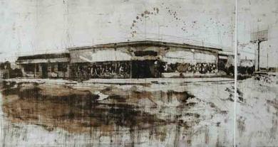 Pino II|Obra gráficadeWenceslao Robles| Compra arte en Flecha.es