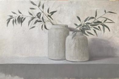 Ramas de olivo|Pinturademarta gomez de la serna| Compra arte en Flecha.es