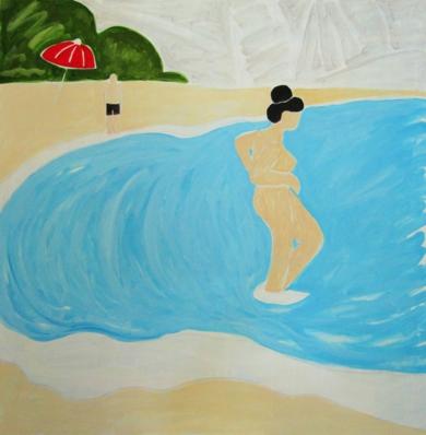 Mediterráneo|PinturadeMiguel Costales| Compra arte en Flecha.es