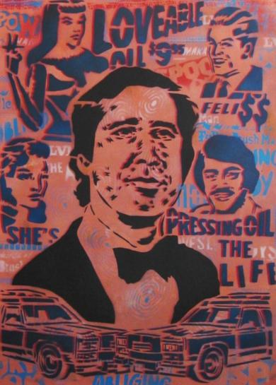 Chasing Chevy|Obra gráficadeCarlos Madriz| Compra arte en Flecha.es