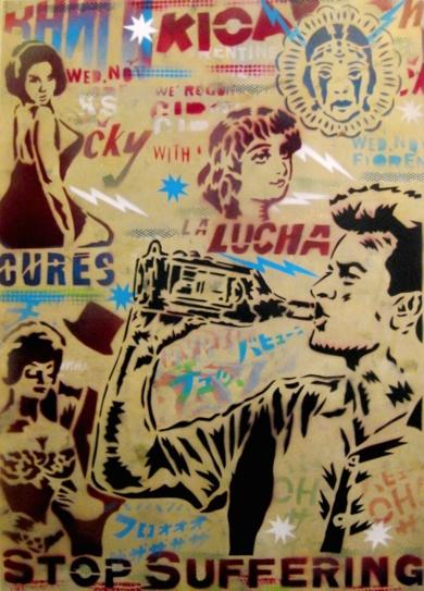 Charlie|Obra gráficadeCarlos Madriz| Compra arte en Flecha.es