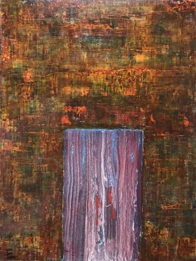 Puerta matérica|PinturadeEnric Correa| Compra arte en Flecha.es