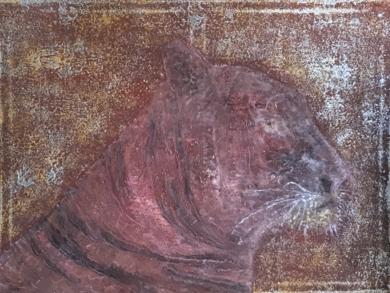 Panthera tigris|PinturadeEnric Correa| Compra arte en Flecha.es