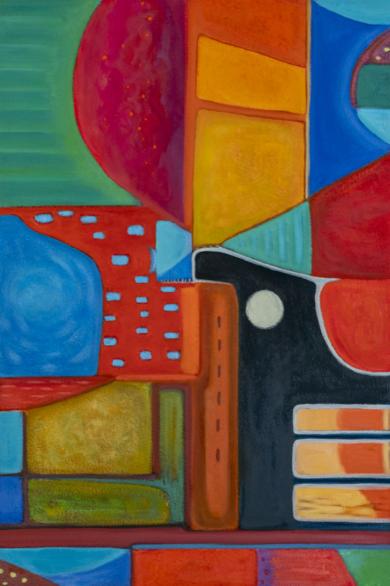 Variaciones geométricas VII|PinturadeHelena Revuelta| Compra arte en Flecha.es