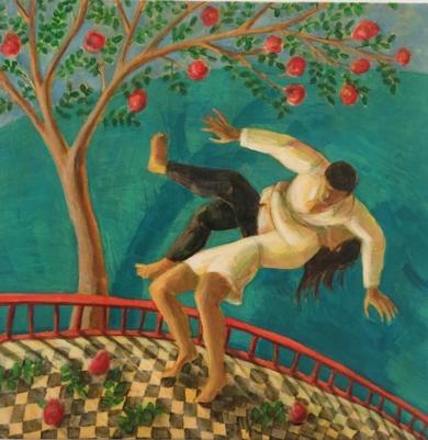 Danza|PinturadeLuz Letts| Compra arte en Flecha.es