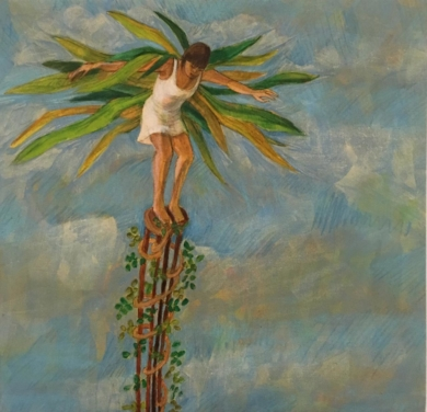 Ave|PinturadeLuz Letts| Compra arte en Flecha.es