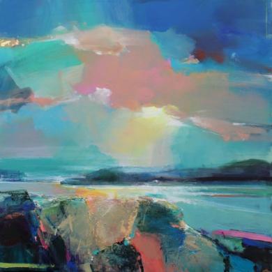Warm Skies 5|PinturadeMagdalena Morey| Compra arte en Flecha.es