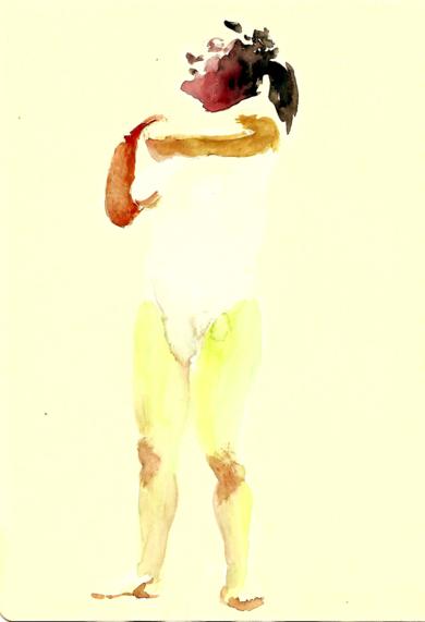 apunte 002|DibujodeAlvaro Sellés| Compra arte en Flecha.es