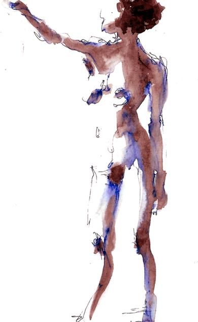 Apunte 004|DibujodeAlvaro Sellés| Compra arte en Flecha.es