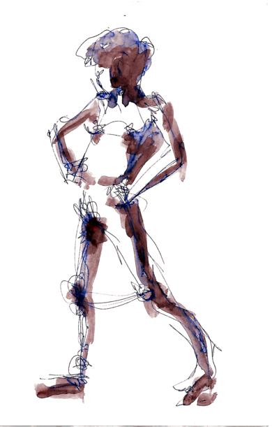 apunte 005|DibujodeAlvaro Sellés| Compra arte en Flecha.es