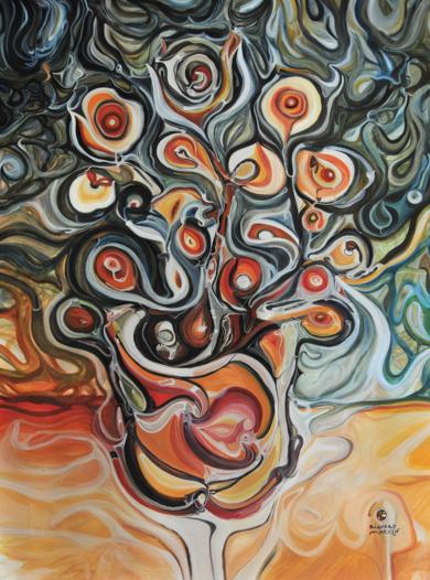 Naturaleza viva - Fibonacci|PinturadeRICHARD MARTIN| Compra arte en Flecha.es