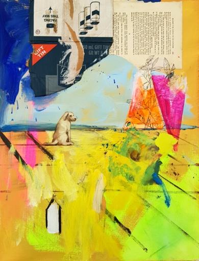 Enredos de color.|CollagedeJuan Mateo Cabrera| Compra arte en Flecha.es