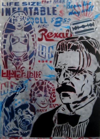 Arthur|IlustracióndeCarlos Madriz| Compra arte en Flecha.es