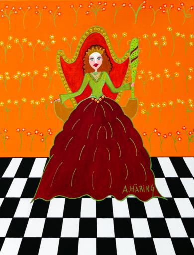 Reina Matilda de Bastos|PinturadeÁngela Fernández Häring| Compra arte en Flecha.es