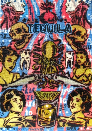 Piaceri II (Tequila)|PinturadeCarlos Madriz| Compra arte en Flecha.es