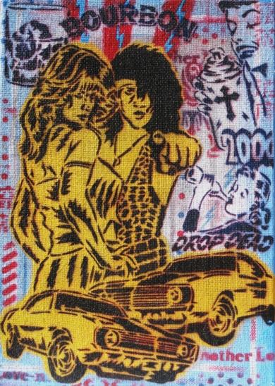 Piaceri I ( Bourbon)|PinturadeCarlos Madriz| Compra arte en Flecha.es