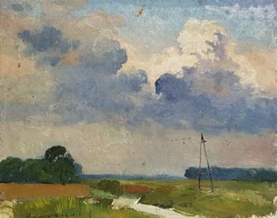 Bid Sky|PinturadeAfanasiev Vladimir Illich| Compra arte en Flecha.es