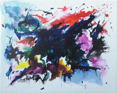 NOCTURNE IN C SHARP MINOR|PinturadeValeriano Cortázar| Compra arte en Flecha.es