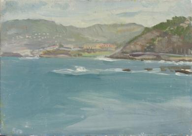 Galicia Blue|PinturadeIgnacio Mateos| Compra arte en Flecha.es