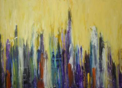 N.Y. FUNK|PinturadeDelio Sánchez| Compra arte en Flecha.es