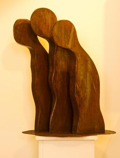 MIGRANTES AFRICANOS|EsculturadeDelio Sánchez| Compra arte en Flecha.es