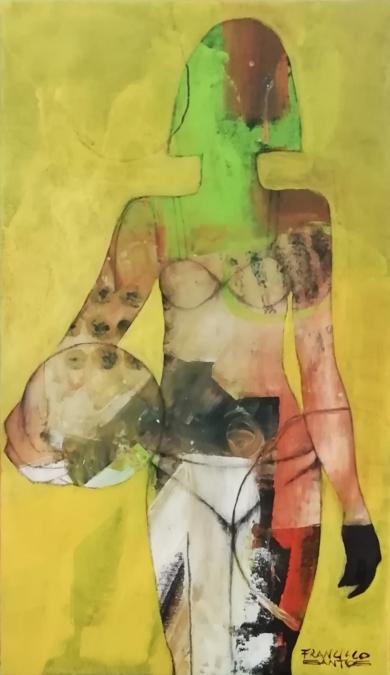 The player|PinturadeFrancisco Santos| Compra arte en Flecha.es