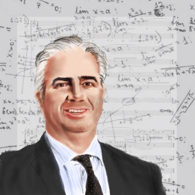el matemático JC|DigitaldeAlberto Ballarín| Compra arte en Flecha.es