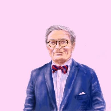 Retrato de JM|DibujodeAlberto Ballarín| Compra arte en Flecha.es
