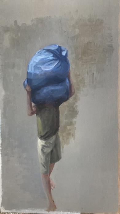 En Calcuta|Pinturademarta gomez de la serna| Compra arte en Flecha.es