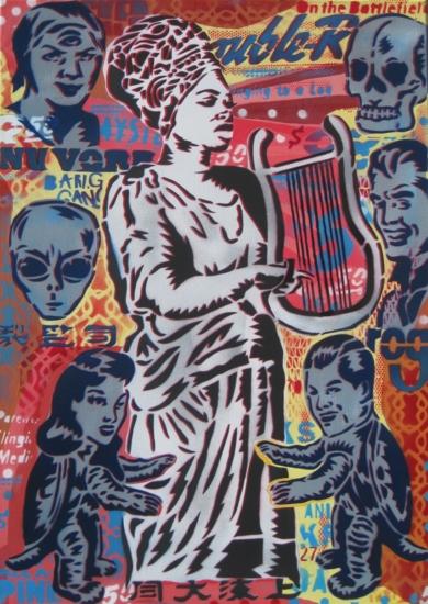 Romancero Vol. II|PinturadeCarlos Madriz| Compra arte en Flecha.es