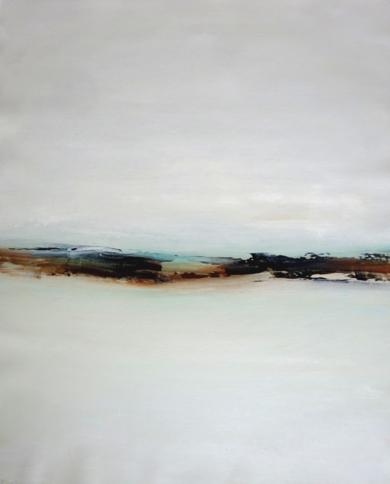 Como la luz del invierno encuentra su camino hacia el cielo II|PinturadeEsther Porta| Compra arte en Flecha.es