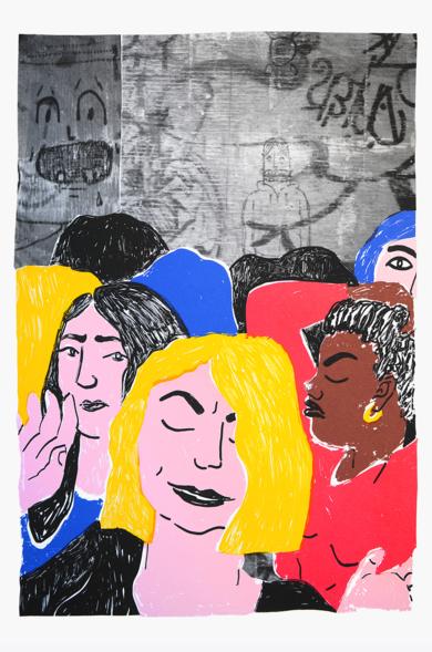 Voyeur|IlustracióndeMar Estrama| Compra arte en Flecha.es