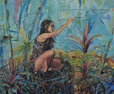 Mi Flor 2020|PinturadeAmaya Fernández Fariza| Compra arte en Flecha.es